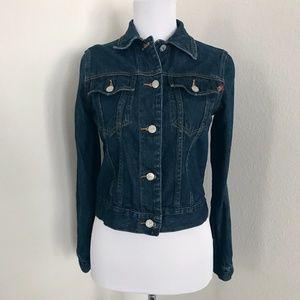 Roxy denim jean jacket (size small)